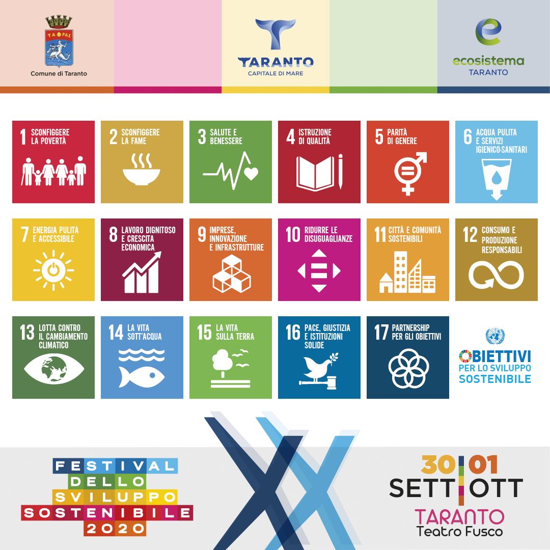 A Taranto Una Tappa Del Festival Dello Sviluppo Sostenibile Studio100