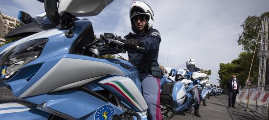 LA POLIZIA STRADALE ACCOMPAGNA LA 103^ EDIZIONE DEL GIRO D'ITALIA